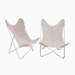 Butterfly Armchairs by Jorge Ferrari-Hardoy for Knoll Inc. / Knoll International, 1970s, Set of 2
