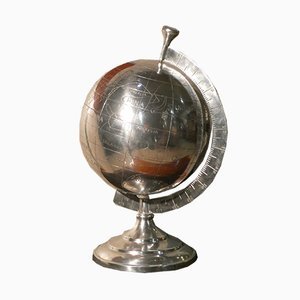 Vintage Steel Advertising Globe