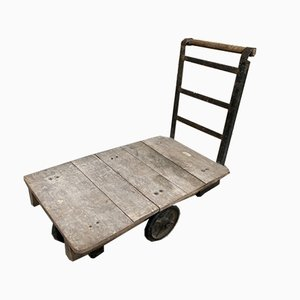 Vintage Industrial Factory Trolley from Slingsby