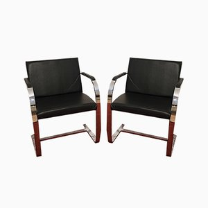 Vintage Armchairs by Ludwig Mies van der Rohe for Alivar, Set of 2