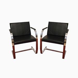 Vintage Armlehnstühle von Ludwig Mies van der Rohe für Alivar, 2er Set