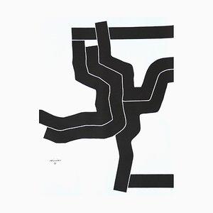 Affiche des Jeux Olympiques par Eduardo Chillida pour Edition Olympia 1972 GmbH, 1970s