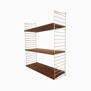 Teak Shelf by Kajsa & Nils ''Nisse'' Strinning for String, 1950s