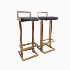 Barstools from Maison Jansen, 1970s, Set of 2