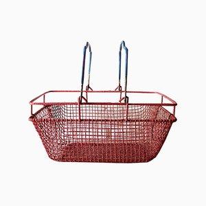 Vintage Industrial Baskets, Set of 2