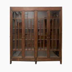 Vitrine mit 4 Türen, 1930er