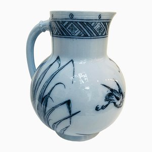 19th Century Light Blue Jug from Brown Westhead Moore and Co