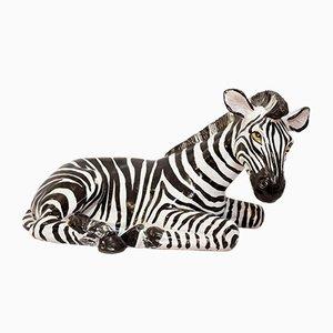 Ceramic Zebra, 1970s