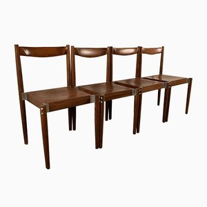 Model 1583 Dining Chairs, Czechoslovakia, 1960s, Set of 4