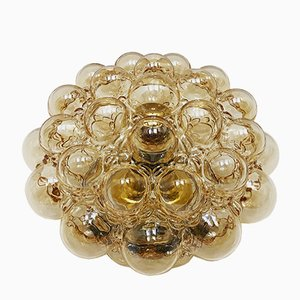 Large Bubble Glass Sconce by Helena Tynell for Limburg, 1960s