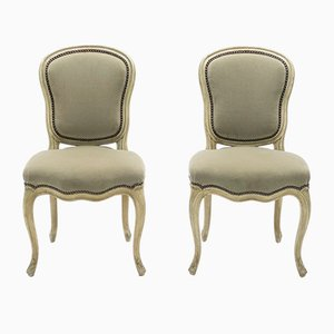 Neoclassical Louis XV Style Chairs from Maison Jansen, 1940s, Set of 2