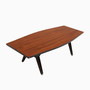 Rosewood Conference Table by Ico Parisi for MIM, 1950s