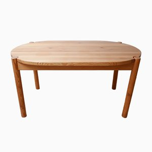 Danish Pine Dining Table by Rainer Daumiller, 1970s