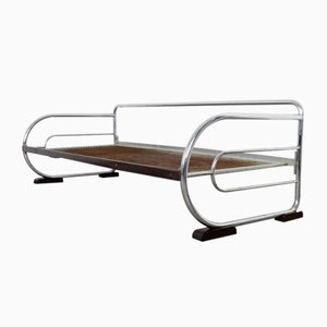 Sofá cama tubular de Hynek Gottwald, años 30