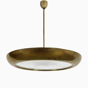 Ceiling Lamp by Josef Hurka for Napako, 1940s