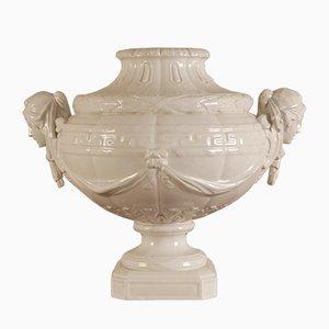 Antique White Porcelain Vase from KPM Berlin