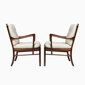 PJ 149 Colonial Armchairs by Ole Wanscher for P. Jeppesen, Denmark, 1949, Set of 2