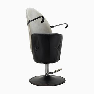 Mid-Century Adjustable Swivel Hairdresser Chair, 1970s