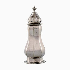 Late-19th Century English Pepper Shaker in Silver from Mappin & Webb