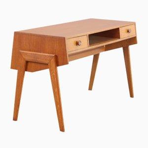 Vintage Oak Desk by Coen de Vries for EEKA, 1950s