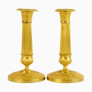 Kleine Empire-Kerzenhalter, Frankreich, 1810, 2er-Satz