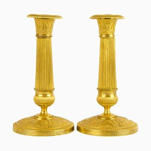 Small Empire candleholders, France, 1810, set of 2