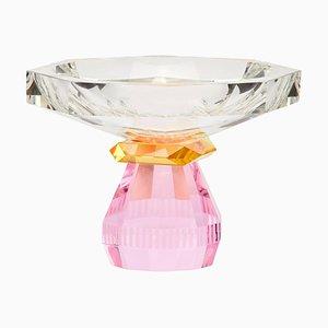 Madison Schale aus handgemeißeltem Kristallglas von Reflections Copenhagen