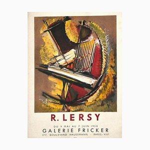 Lersy's Poster - Originelles Angebot und Lithografie auf Papier von R. Lersi - 1958 1958