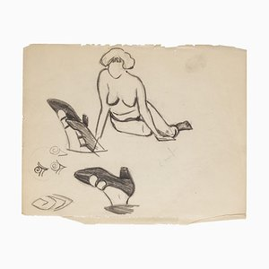 Studies - Original Drawing - 20th Century 20th Century