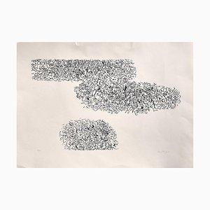 Abstract Composition - Original Siebdruck von A. Sanfilippo - 1971 1971