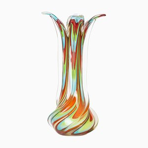 Jolly Vase, Vintage Murano Glass, 1970s