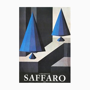 Saffaro's Poster - Original Offset Print after Lucio Saffaro - 1976 1976