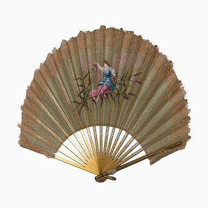 Anient Traditional Fan, Italy, 18th Century