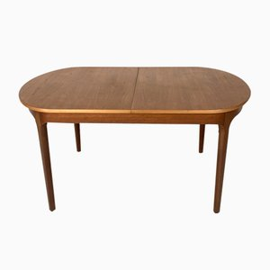 Mid-Century Extendable Teak Dining Table from Macintosh