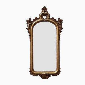 Early 20th-Century Italian Gilt Wall Mirror, 1920s