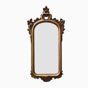 Early 20th-Century Italian Gilt Wall Mirror, 1920s
