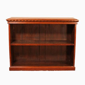 Open Bookcase in Walnut, 19th Century
