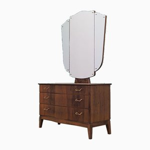 Danish Walnut Dressing Table from Øm Mobelfabrik, 1960s