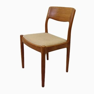 Danish Teak Dining Chairs from Juul Kristensen, 1970s, Set of 6