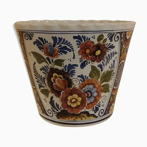 Polychrome Earthenware Planter Put