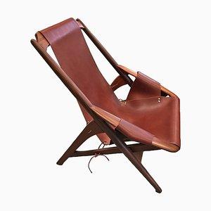 Dänischer Mid-Century Palisander Sessel