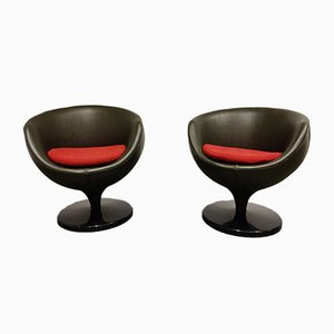 Luna Lounge Chairs by Pierre Guariche for Meurop, 1960s, Set of 2