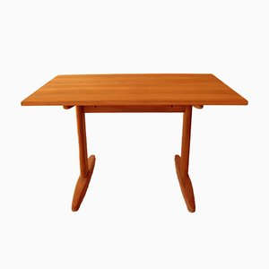 Shaker Solid Oak Dining Table by Børge Mogensen for C.M. Madsen, 1970s