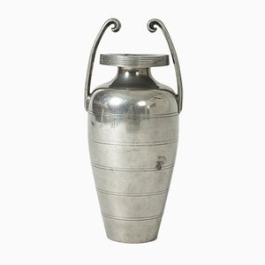 Pewter Vase by Sylvia Stave for C.G. Hallberg, 1933