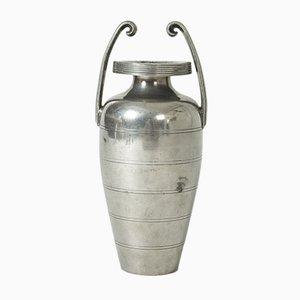 Zinn Vase von Sylvia Stave für CG Hallberg, 1933