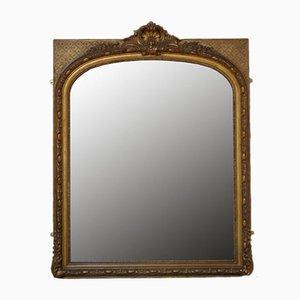 Large 19th-Century Gilt Mirror