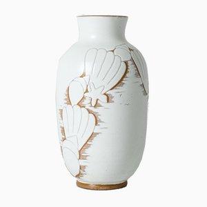 Steingut Vase von Anna-Lisa Thomson für Upsala Ekeby, 1940er