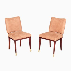 French Art Deco Dining Chairs by Jules Leleu, 1920s, Set of 10