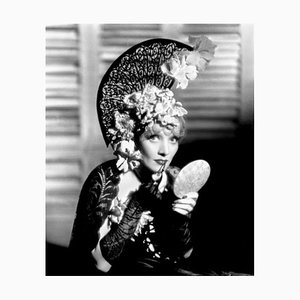 Dietrich in the Devil is a Woman Archival Pigment Print Framed in White by Everett Collection