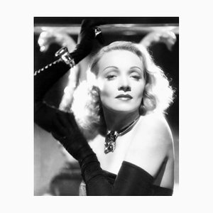 Star Dazzling Dietrich Archival Pigment Print Framed in Black by Everett Collection